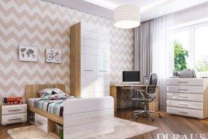 Подростковая мебель Инесса NEW 2 - Мебельная фабрика «РАУС»