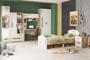 Подростковая мебль серия Джуниор - Мебельная фабрика «Можгинский лесокомбинат»