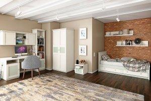 Подростковая спальня Бьюти 1 - Мебельная фабрика «Ангстрем»
