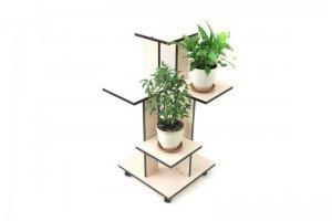 Подставка для цветов Каскад НД - Мебельная фабрика «MINGACHEV»