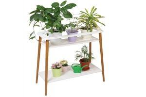 Подставка для цветов Терра белый - Мебельная фабрика «Мебелик»