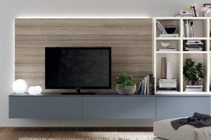подвесная тумба для ТВ аппаратуры - Мебельная фабрика «NIKA premium»