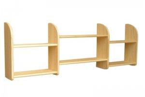 Полка 2 из натурального дерева - Мебельная фабрика «Дубрава»