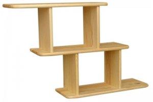 Полка 3 из натурального дерева - Мебельная фабрика «Дубрава»