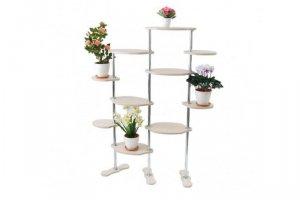 Полка для цветов №34  (Шерр) - Мебельная фабрика «MINGACHEV»