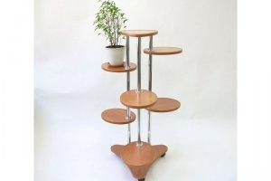 Полка для цветов №37а (Анэтта) - Мебельная фабрика «MINGACHEV»