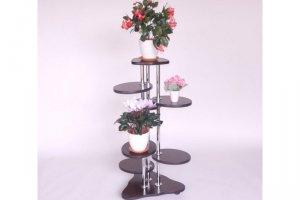 Полка для цветов  №37б - Мебельная фабрика «MINGACHEV»