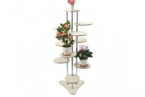 Полка для цветов №37в (Караван) - Мебельная фабрика «MINGACHEV»