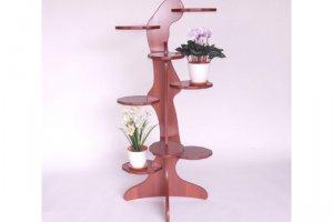 Полка для цветов Арлекин - Мебельная фабрика «MINGACHEV»