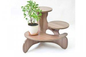 Полка для цветов Багира - Мебельная фабрика «MINGACHEV»