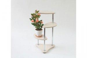 Полка для цветов Белла-1 - Мебельная фабрика «MINGACHEV»