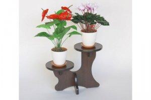 Полка для цветов Мари - Мебельная фабрика «MINGACHEV»