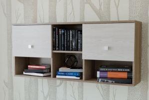 Полка для книг ПК 01 3 - Мебельная фабрика «Милайн»