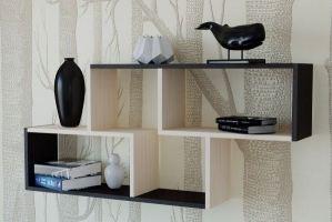 Полка для книг ПК 03 - Мебельная фабрика «Милайн»