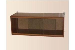 Полка книжная со стеклом - Мебельная фабрика «Мартис Ком»