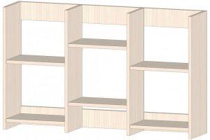 Полка книжная средняя - Мебельная фабрика «Линаура»