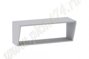 Полка кухонная подвесная широкая МТ 32-18 - Оптовый поставщик комплектующих «Мебельные технологии»