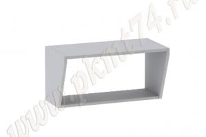 Полка кухонная подвесная средняя МТ 32-19 - Оптовый поставщик комплектующих «Мебельные технологии»