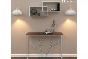 Полка настенная для книг КМ 24 - Мебельная фабрика «Кортекс-мебель»
