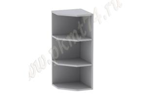 Полка навесная кухонная угловая МТ 32-13 - Оптовый поставщик комплектующих «Мебельные технологии»