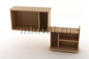 Полка навесная Пн 01 02 - Мебельная фабрика «Риал»