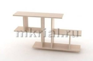 Полка навесная Пн 01 04 - Мебельная фабрика «Риал»