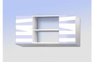 Полка навесная с двумя ящиками Мишка малышка - Мебельная фабрика «Рим»