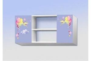 Полка навесная с двумя ящиками Полка единороги - Мебельная фабрика «Рим»