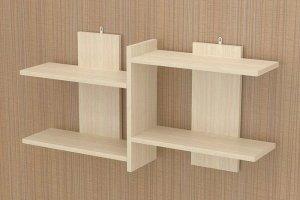 Полка подвесная 2 акация - Мебельная фабрика «МФ-КУПЕ»