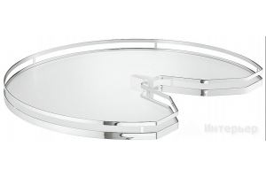 Полка поворотная Arena Stile 541.46.295 - Оптовый поставщик комплектующих «Интерьер»