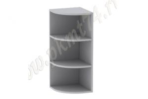 Полка угловая кухонная навесная МТ 32-14 - Оптовый поставщик комплектующих «Мебельные технологии»