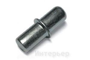 Полкодержатель D=5 металл для ДСП 21829 - Оптовый поставщик комплектующих «Интерьер»