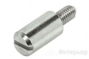 Полкодержатель никелированный М4х8мм 282.39.705 - Оптовый поставщик комплектующих «Интерьер»