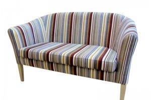 Полосатый диван Ланч - Мебельная фабрика «Ритм»