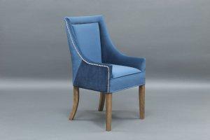 Полукресло Bonnet синее - Мебельная фабрика «Berger»