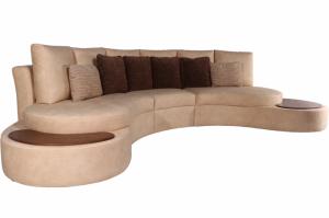 Полукруглый диван Омега - Мебельная фабрика «Олимп»