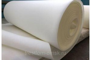 Поролон рулонный - Оптовый поставщик комплектующих «ТРЕСТФОМ»