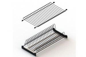 Посудосушитель Чёрный в верхнюю базу  для кухни - Оптовый поставщик комплектующих «ЮММ-ТЕХНО»