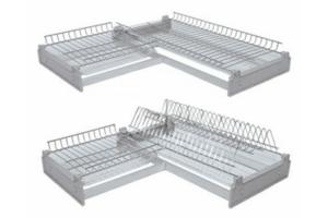 Посудосушитель угловой - Оптовый поставщик комплектующих «Мебельщик»