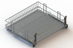 Посудосушитель выкатной для корпусов в нижнюю базу - Оптовый поставщик комплектующих «ЮММ-ТЕХНО»