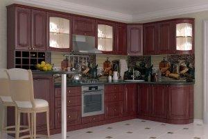Кухня Премиум 46 - Мебельная фабрика «Алмаз-мебель»