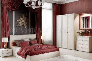 Спальня модульная Престиж 2 - Мебельная фабрика «МиФ»