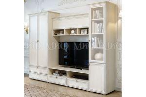 Светлая гостиная модульная Престиж 2 - Мебельная фабрика «МиФ»