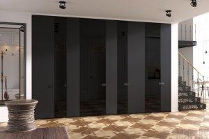 Большой шкаф в прихожую 087 - Мебельная фабрика «Mr.Doors»