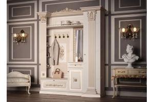 Прихожая Б11.4-6 декор ЦД-24 - Мебельная фабрика «Благо»