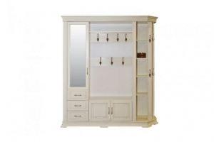 Прихожая белая Голландия 303 - Мебельная фабрика «Пайнс»