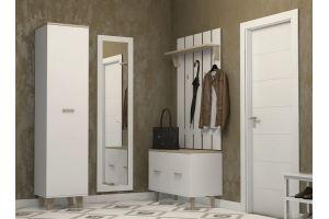 Прихожая белая Ларго - Мебельная фабрика «Интеди»