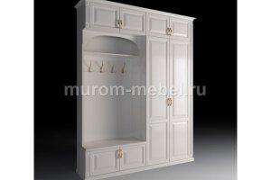 Прихожая белая Ронда - Мебельная фабрика «Муром-мебель»