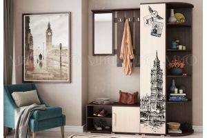 Прихожая Белла с фотопечатью - Мебельная фабрика «МиФ»