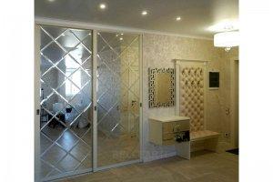 Прихожая большая с зеркалами Каприз - Мебельная фабрика «Люкс-С»